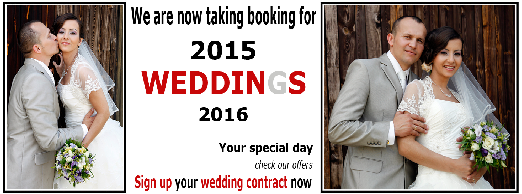 WEDDING offer